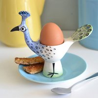 Peacock Egg Cup
