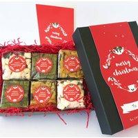 Luxury Christmas Vegan Brownie Gift Box