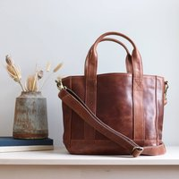Boston Leather Crossbody Handbag