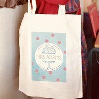 Apple Tree Personalised Tote Bag