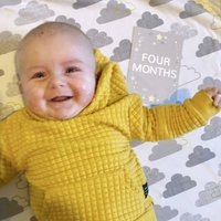 Baby Milestone Cards Stars