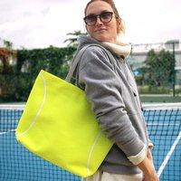 Genuine Tennis Ball Tote Bag