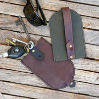 Soft Leather Key Pouch