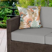 Autumnal Woodland Water Resistant Outdoor Cushion