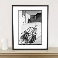 Metal Wheelbarrow, Fes, Morocco Photographic Art Print