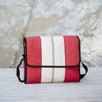 Recycled Fire Hose Messenger Bag