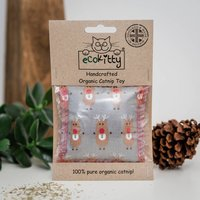 Handcrafted Organic Catnip Christmas Toy Fun
