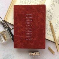 2020 Diary. Binary Code Diary. Personalised Diary