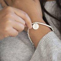 Personalised Sterling Lobster Clasp Bracelet