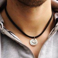 Men's Flippy Disk Necklace