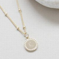 Friendship Necklace In Sterling Silver Or Gold Vermeil, Silver