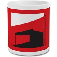 'Factory of Dreams' Minimalist Manchester United Mug