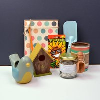 Childrens Bird House And Feeder Gift
