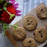 Vegan Dark Chocolate Chip Cookie Baking Kit