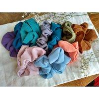 Oversized Silk Satin Scrunchie