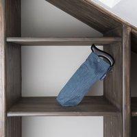 Herringbone Tweed Mens Walking Stick Storage Bag