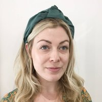Silk Turban Knot Headband 'Beatrix' Three Colours