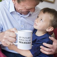 My Favourite People Call Me Grandad / Grandpa Mug