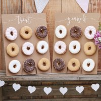 Donut Wall Display For Dessert Cake Party Table