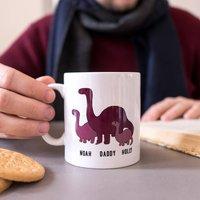 Personalised Diplodocus Dinosaur Mug