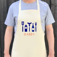 Personalised Bbq Name Apron