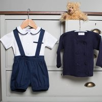 William George Baby Boy Outfit