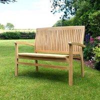 Simply Elegant Teak Garden Bench