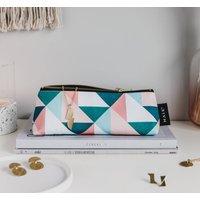 Union Triangles Mini Make Up Bag