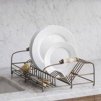 Antique Brass Dish Drainer