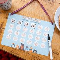 Personalised Kids Kindness Reusable Advent Calendar