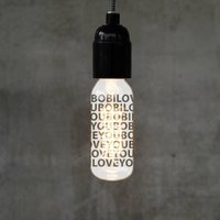 Personalised 'I Love You' Engraved Filament Light Bulb