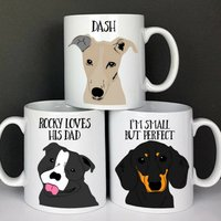 Personalised Dog Love Gift Mug