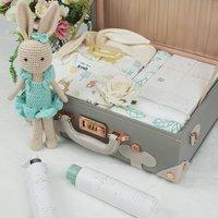 Unisex Luxury Baby Collection Traditional Keepsake Case