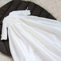 Rose Long Sleeved Christening Gown
