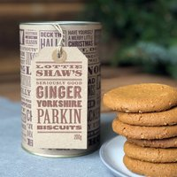 Yorkshire Parkin Biscuit Tube
