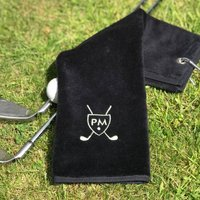 Golf Towel With Shield