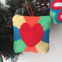 Make Your Own Tapestry Heart Lavender Decoration
