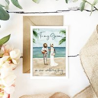 To My Groom On Our Wedding Day Beach