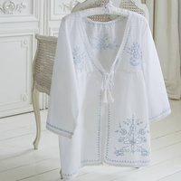 Cotton Embroidered Kaftan Beach Cover Up