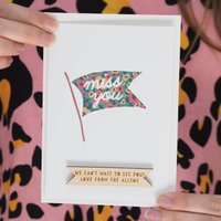 Personalised Miss You Card