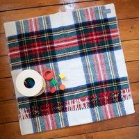 Pure New Wool Tartan Pram Blankets