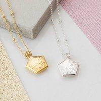 Shine Bright Pentagon Locket Necklace