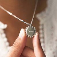 Personalised Signature Message Necklace