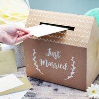 Wedding Greetings Card Post Box
