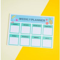 Motivational Weekly Planner Note
