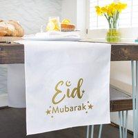 Ramadan Eid Mubarak Table Runner