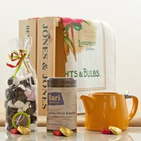Garden Fruit And Herbs Tea Hamper Crate