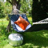 Contemporary Charcoal Garden Hammock