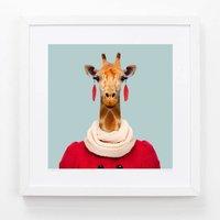 Northern Giraffe Art Print