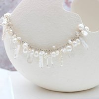 Ivory White Assorted Pearl Necklace